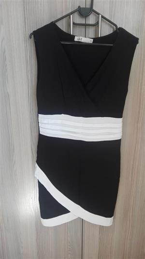 Black and white short dress for sale