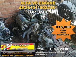 Alfa V6 Engine FOR SALE