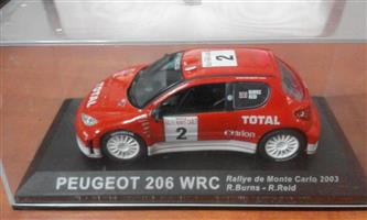 Peugeot 206 wrc racing car for sale