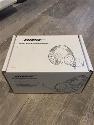 Bose A20 Aviation Headset With full Bluetooth