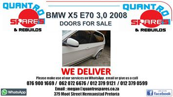 BMW x5 E70 3.0D 2009 doors for sale