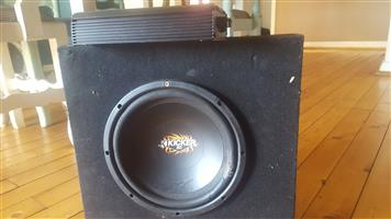 """10"""" amp and XTC amp for sale"""