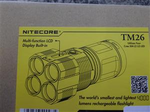 Nitecore 4000 Lumens Flashlight