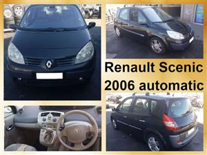 Renault Scenic 2006 automatic spares for sale.