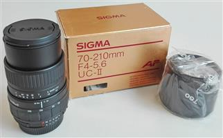 Sigma 70-210mm Lens for Nikon