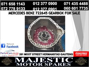 Mercedes benz gearbox for sale used