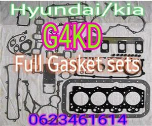 HYUNDAI AND KIA FULL GASKET SETS G4kd