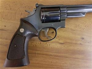 Smith & Wesson 357 magnum revolver