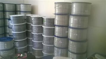 Cat 6 Network cable / UTP / LAN / Ethernet cable for sale. R2000/500 m drum. WhatsApp 0766566644