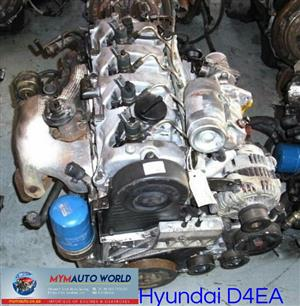 Imported used HYUNDAI TUSCON/ELANTRA  2.0L DIESEL TDI, D4EA, Complete second hand used engine