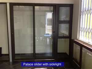 Aluminium Palace Sliding Door with Sidelight