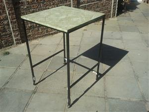 Used over table