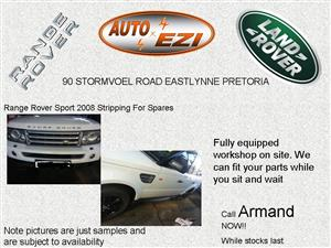 Range Rover Sport Stripping 4 Spares