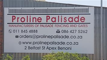 PROLINE PALISADE - FENCING INSTALLATION ACCESSORIES