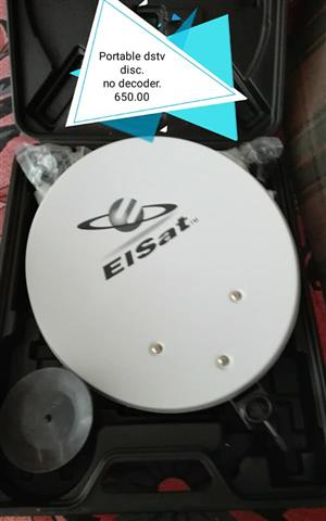 Eisat portable dish for sale