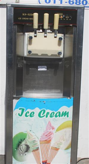 Ice cream KS 5236 3 leaver ice cream machine S031573A #Rosettenvillepawnshop