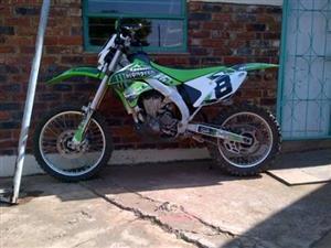 2008 Kawasaki KLX450A9F