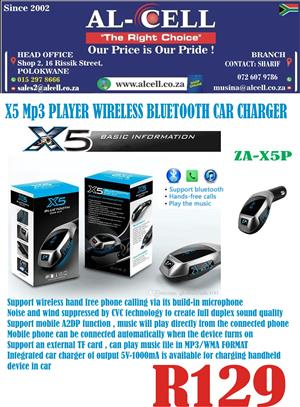 Zatech X5 Plus Wireless Car Kit