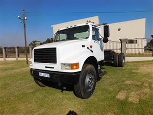 International 4900 DT466 Single Axle Truck Tractor