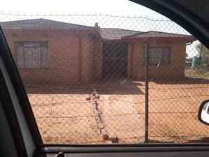 Big 3bed house in hammaskraal makapane