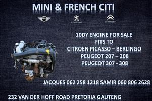 10DY Engine For Sale Citroen and Peugeot