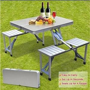 Aluminium Folding Picnic Table