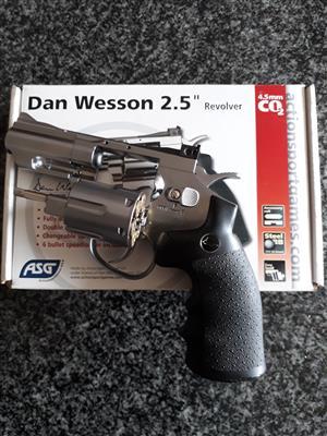 Dan Wesson 2.5'' Revolver 4.5mm CO2 BB