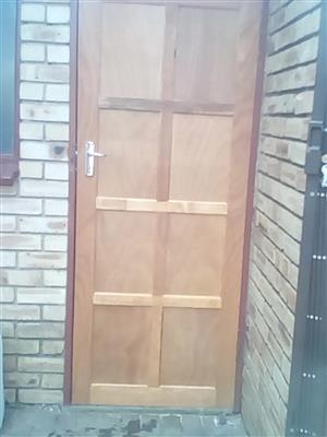 Wooden doors Hung