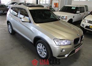 2012 BMW X3 xDRIVE 20d M SPORT (G01)