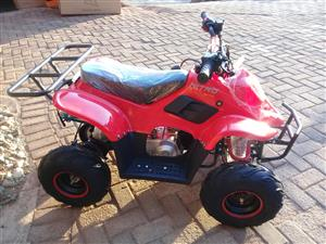 Quad Bike 125cc Four stroke Automatic with Reverse, Electric Start and Remote - Brand New