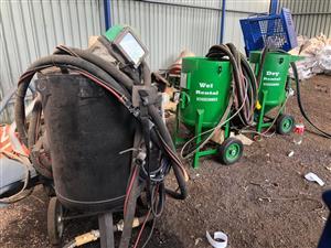 36. Sandblasting Wet & Dry & Diesel Compressor