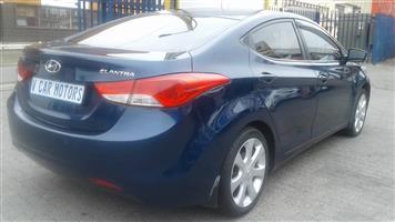 2012 Hyundai Elantra 1.6 GLS automatic