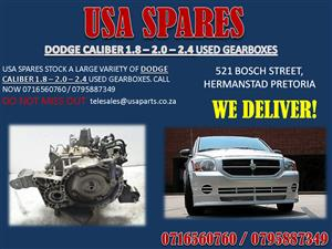 DODGE CALIBER GEARBOX . USA SPARES