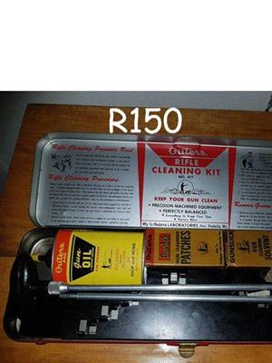 Rifle cleaning kit