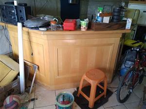 Bar counter or shop counter