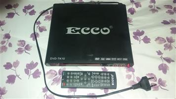 Ecco dvd player with remote