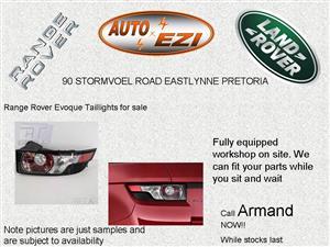 Range Rover Evoque Taillights