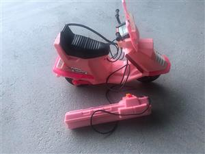 Barbie remote scooter for sale.