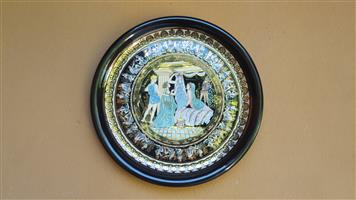 Beautiful large Greek wall plate.