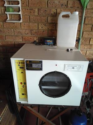 I have a Surehatch incubator for sale.