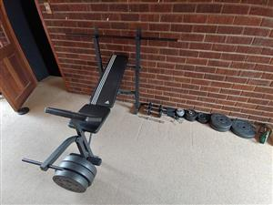 Black gym bench for sale