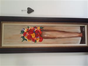 Original Olivia Kotze Oil Painting