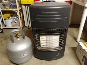 Russel Hobbs Gas Heater and accessories for sale