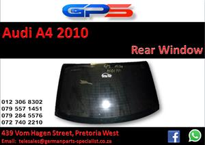 Used Audi A4 2010 Rear Window for Sale