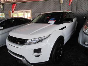 2013 Land Rover Range Rover Evoque coupe EVOQUE 2.0 HSE DYNAMIC COUPE