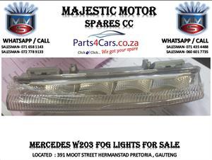 Mercedes ben W203 fog lights for sale