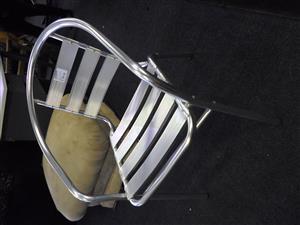 4x Aluminium Garden Chairs