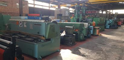 IF YOU SELLING OR GETTING RID OF YOUR REDUNDANT MACHINERY,ENGINEERING AND SHEET METAL GIVE ME A CALL