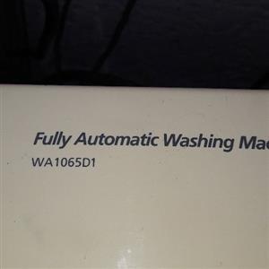 Samsung 10kg top loader washing