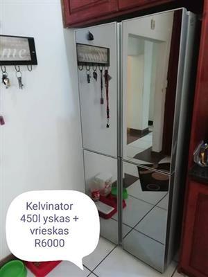 Kelvinator 540 l yskas/ vrieskas.